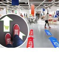 stampa adesivi pvc pavimenti calpestabili| multigrafica.net