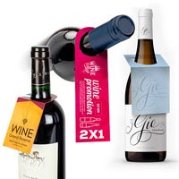 Cartellini per bottiglie