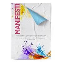 Stampa manifesti su carta blueback per affissione| multigrafica.net
