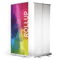 rollup espositore avvolgibile porta banner economico| multigrafica.net